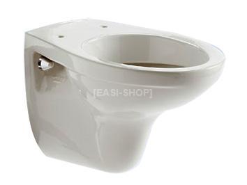 Staande wc pot plaatsen