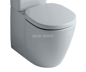 Connect staande wc cuvette h back to wall ideal standard for Cuvette wc ideal standard